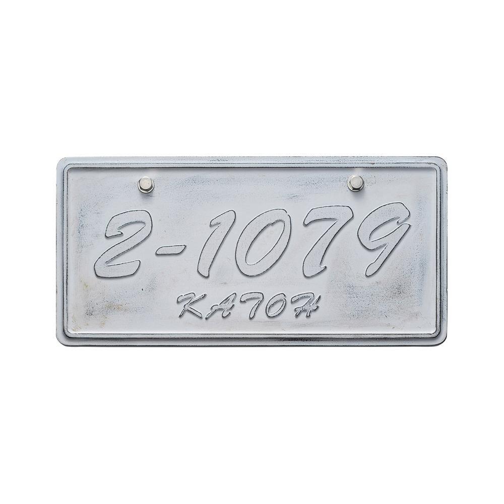 流行 生活 雑貨 アルミ鋳物表札 ジャーニー CA-111