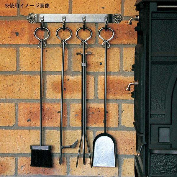 生活 雑貨 通販 ストーブアクセサリー ファイアーツール ヴィンテージ壁掛けツールセット PA8209