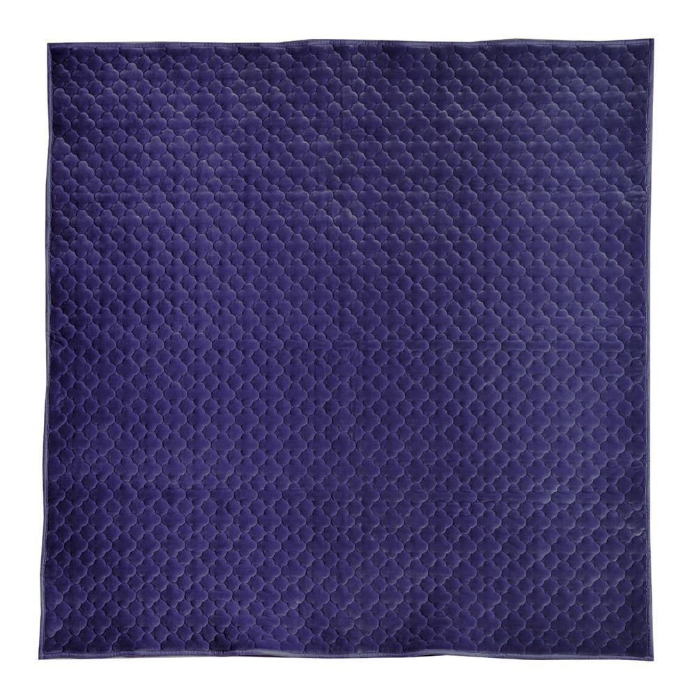 モロッカンキルトラグ グレイッシュ ネイビー 約200×240cm 240617325人気 お得な送料無料 おすすめ 流行 生活 雑貨