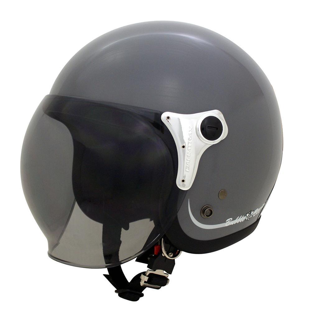ダムトラックス(DAMMTRAX) バブル ビー ヘルメット GLOSS GRAYオススメ 送料無料 生活 雑貨 通販