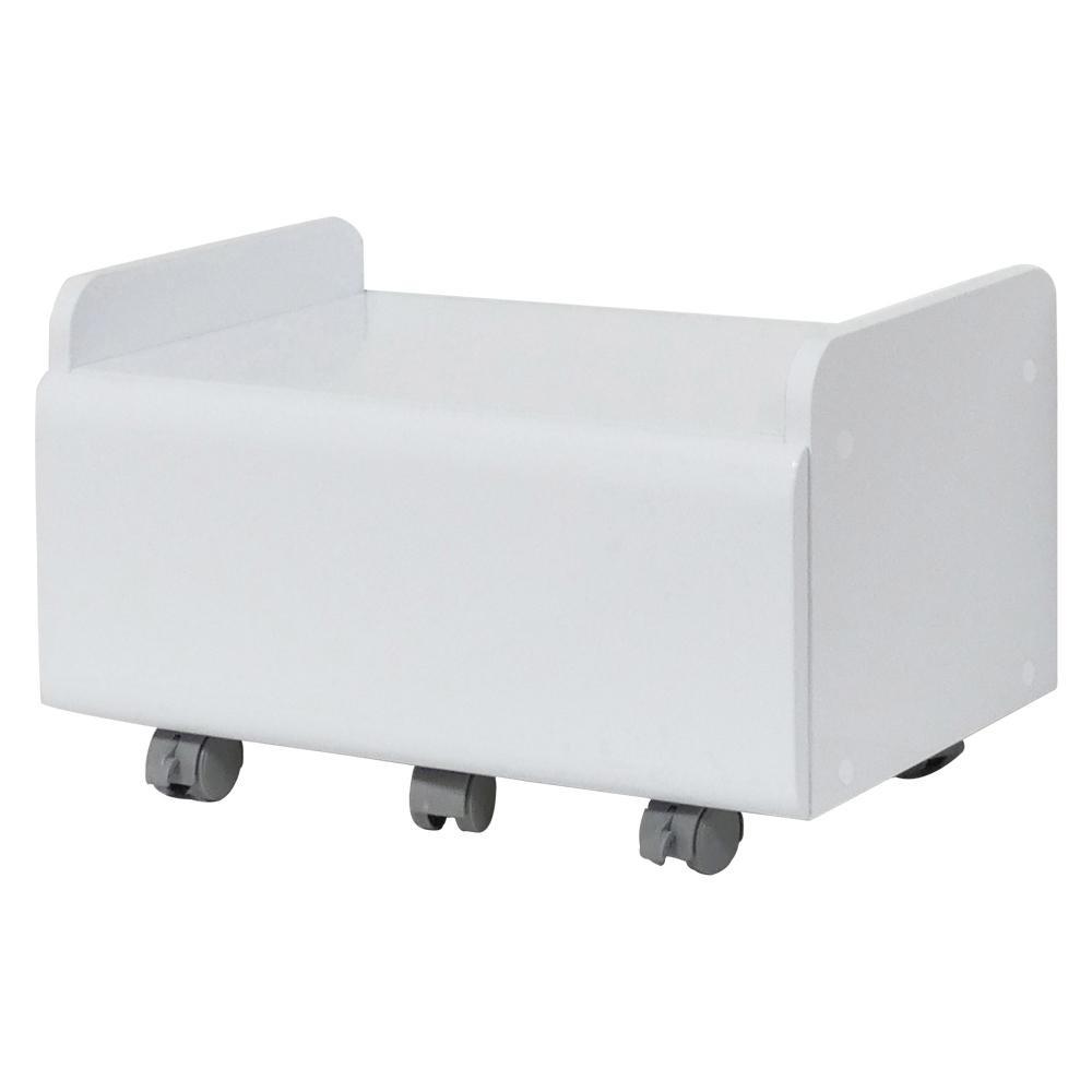 家具 インテリア 関連 鏡面空気清浄機ワゴン ホワイト 30177
