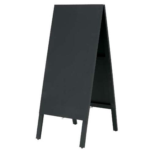流行 生活 雑貨 A型黒板 ブラック チョーク専用 WAB02BK