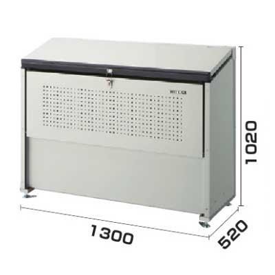 流行 生活 雑貨 ゴミ収集庫 クリーンストッカー 省奥行タイプ 容量500L CKE-1305