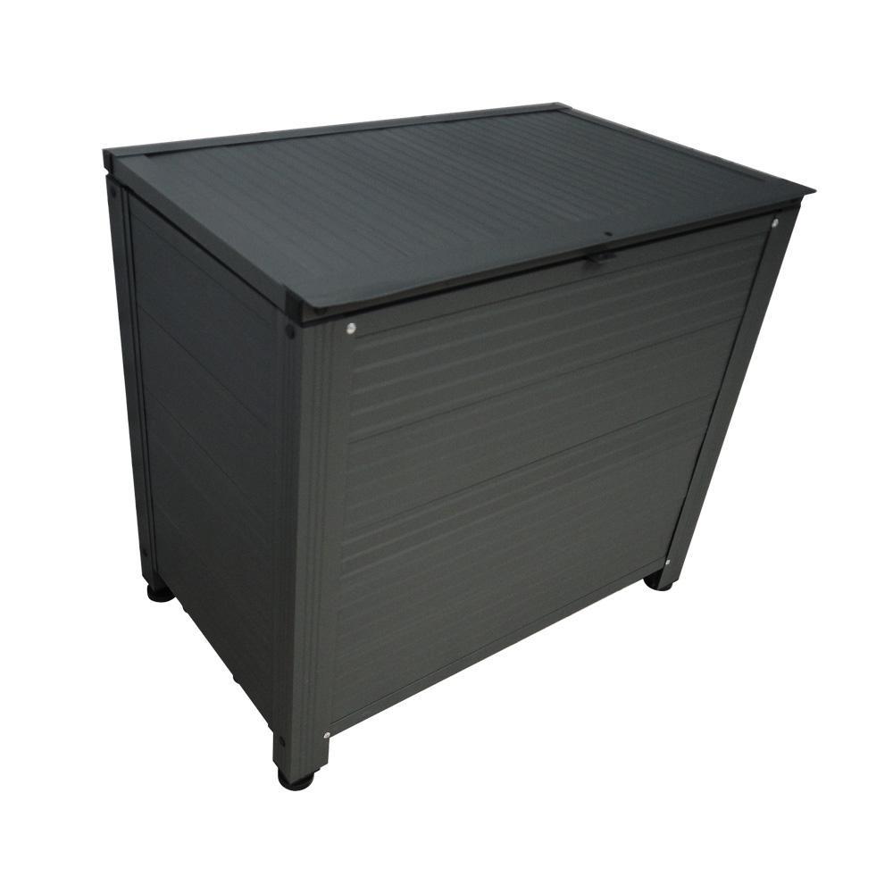 トレンド 雑貨 おしゃれ アルミ製ストッカーBOX コンパクト AS-6440GY