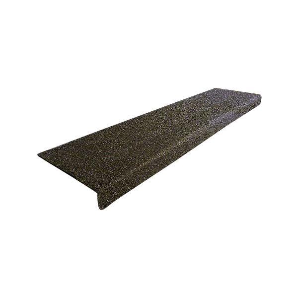 階段用滑り止めカバー 6インチ単色x914mm幅 914x150x25mm 黒鉄板設置用ネジ付属 12090-S