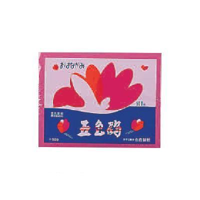 生活 雑貨 通販 五色鶴 500枚ポリ袋入×10袋 4 ぼたん GT500-4