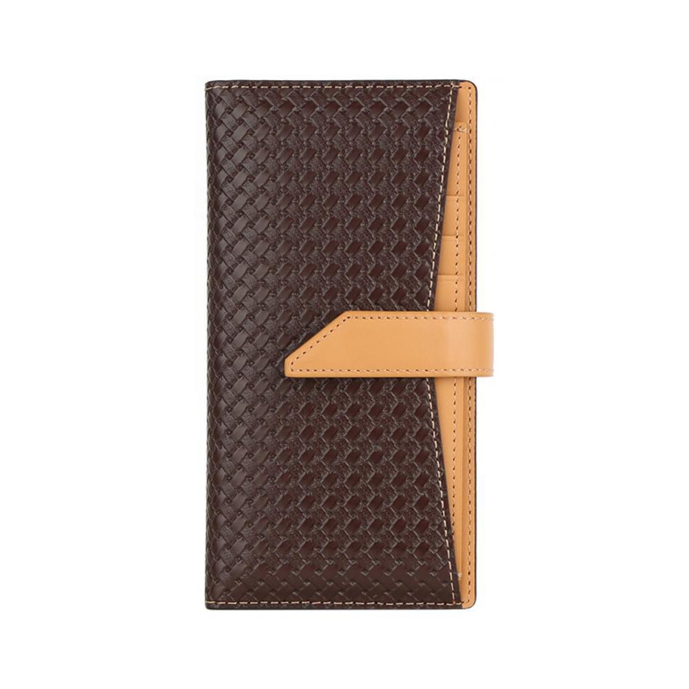 生活 雑貨 通販 Design Skin(デザインスキン) iPhone 11 スライド式手帳型ケース WEAVING LEATHER CASE ブラウン DSK18302i61R