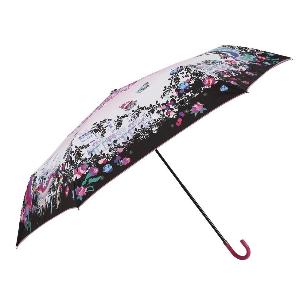 折りたたみ傘 手開き 55cm サンリオ×ホラグチカヨ リトルツインスターズ ピンク 12974 19HGSR-2M人気 お得な送料無料 おすすめ 流行 生活 雑貨