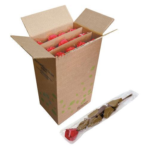 生活 雑貨 通販 ステム付スタンダードローズ 12本入 チェリーレッド FL013-05