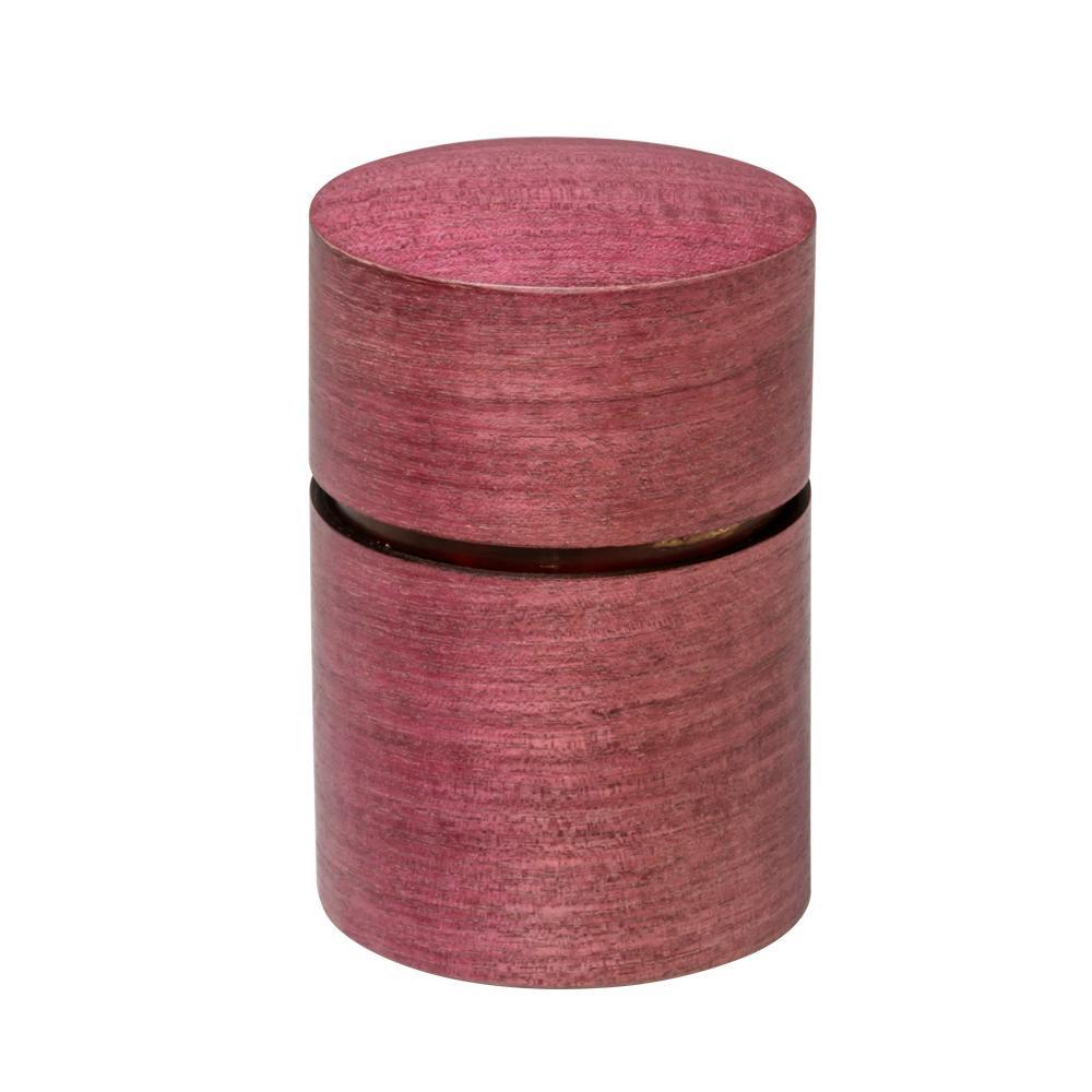 帯筒 茶筒(大) パープルハート 39304人気 商品 送料無料 父の日 日用雑貨