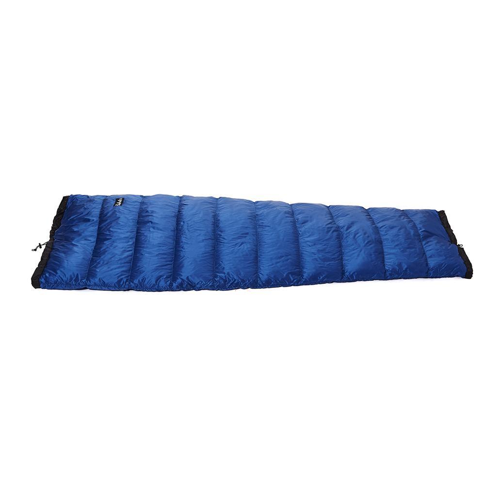 生活 雑貨 通販 半身用シュラフ 100g ブルー×ネイビー DL102H
