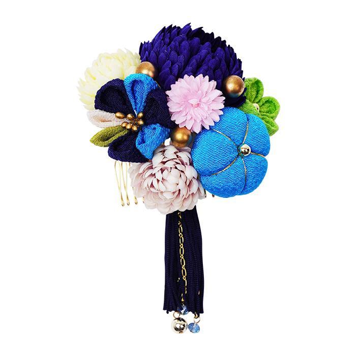 生活 雑貨 通販 菊の和風髪飾り 224-011 コン