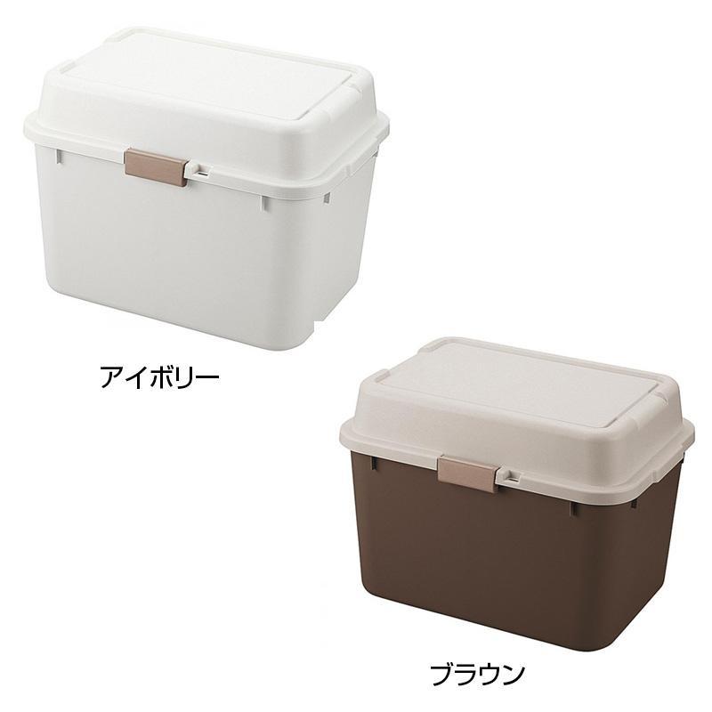 流行 生活 雑貨 収納用品 ルームパック620 2個組(アイボリー&ブラウン) RP-620-2