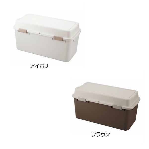 流行 生活 雑貨 収納用品 ルームパック880 2個組(アイボリー&ブラウン) RP-880-2