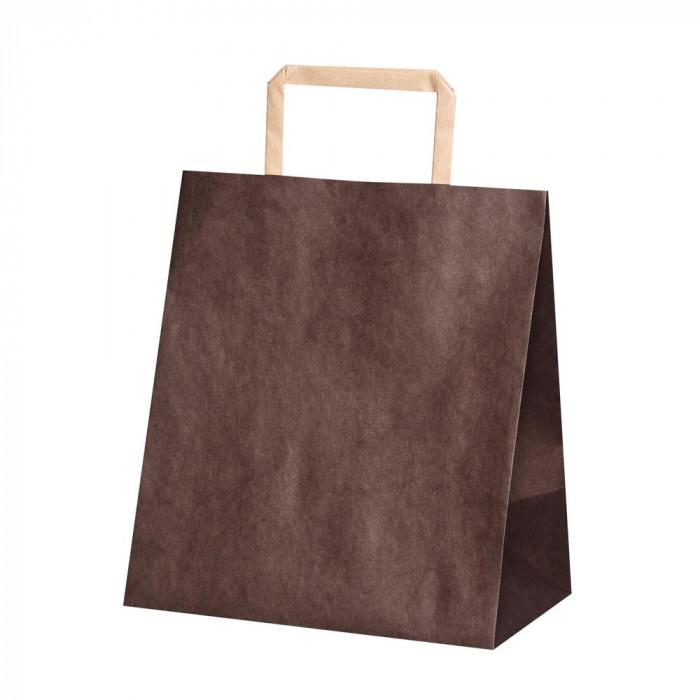 流行 生活 雑貨 平紐手提袋 H平2214 ショコラ 50枚×4包 XZT69938