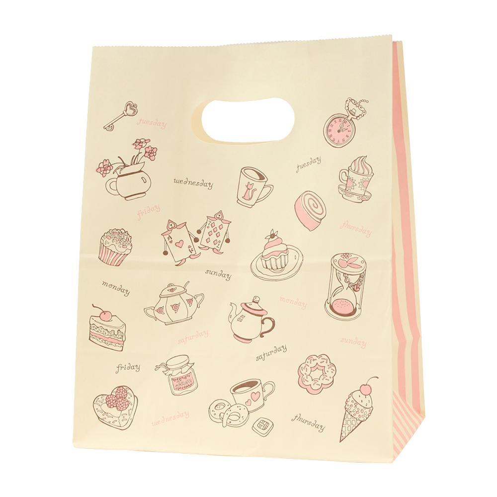 流行 生活 雑貨 紙袋 イーグリップ M アリス 50枚×10束 XZT52015