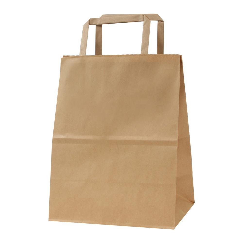 流行 生活 雑貨 平紐手提袋 H平20 未晒 無地 50枚×4包 XZT69920