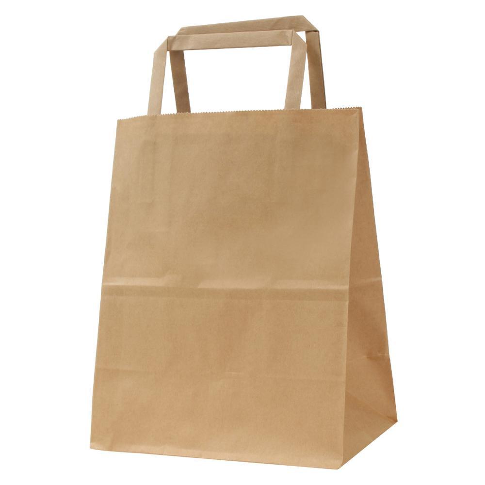 流行 生活 雑貨 平紐手提袋 H平18 未晒 無地 50枚×4包 XZT69921
