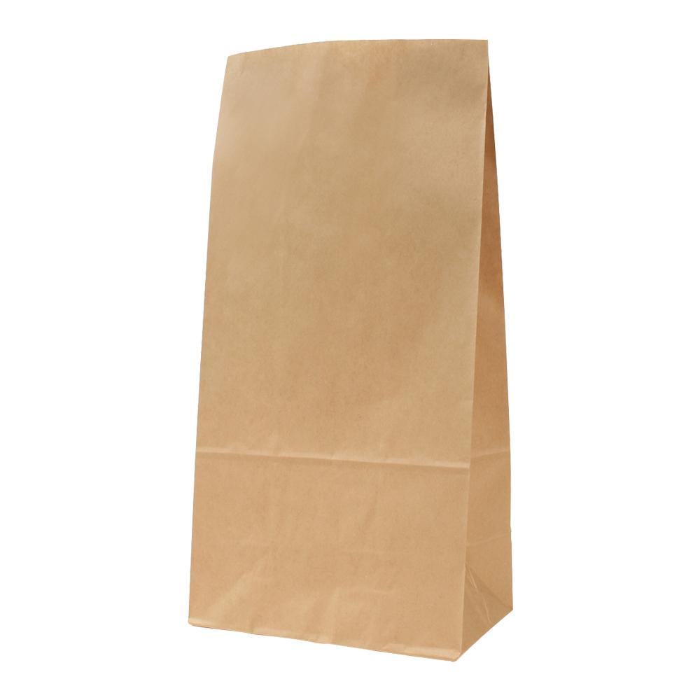 日用品 便利 ユニーク パックタケヤマ 紙袋 ハイバッグ H16 未晒 無地 100枚×5包 XZT00389
