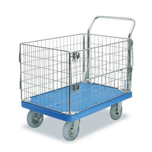 プラスチックテーブル台車 アミ 空気入りグレータイヤ付 最大積載量200kg PLA300-AMIM1-HP人気 お得な送料無料 おすすめ 流行 生活 雑貨