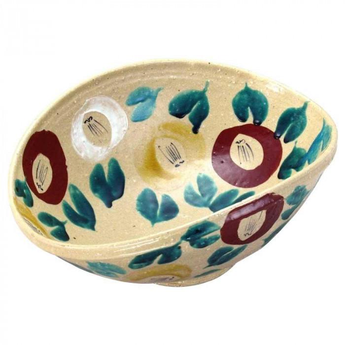 12号鉢 色絵椿 N154-09人気 お得な送料無料 おすすめ 流行 生活 雑貨