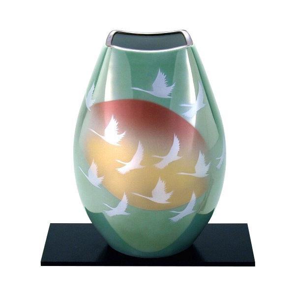8号花瓶 群鶴 N168-05人気 お得な送料無料 おすすめ 流行 生活 雑貨