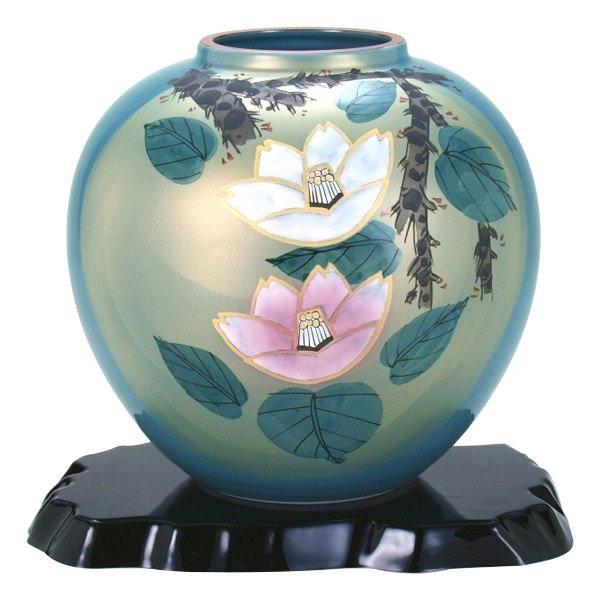 7号花瓶 紅白山茶花 N170-07人気 お得な送料無料 おすすめ 流行 生活 雑貨