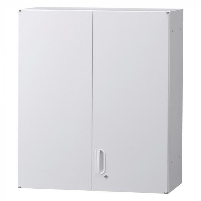 壁面収納庫深型両開きH1050(上置) ホワイト HOS-HRUN BN-90色(ホワイト)人気 お得な送料無料 おすすめ 流行 生活 雑貨