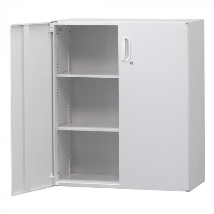 壁面収納庫深型両開きH1050(下置) ホワイト HOS-HRDN BN-90色(ホワイト)人気 お得な送料無料 おすすめ 流行 生活 雑貨