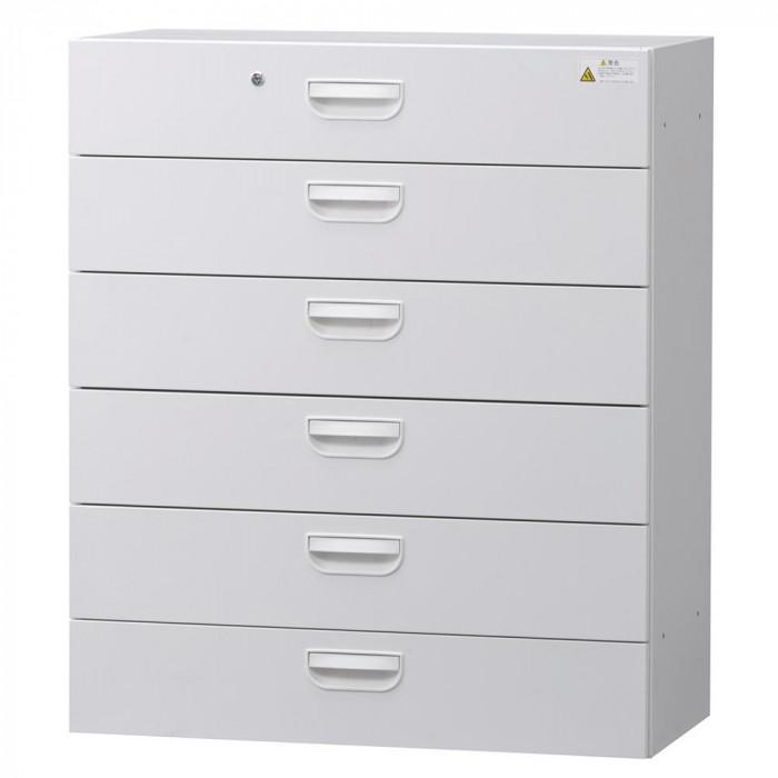 壁面収納庫深型ラテラル6段 ホワイト HOS-L6N BN-90色(ホワイト)人気 お得な送料無料 おすすめ 流行 生活 雑貨
