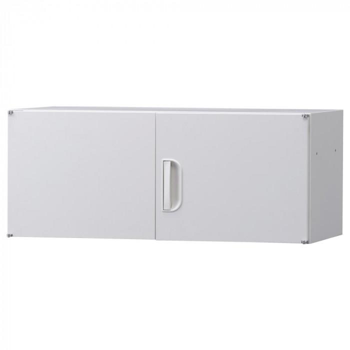 日用品 便利 ユニーク 豊國工業 壁面収納庫深型上置き棚H370 ホワイト HOS-U2 BN-90色(ホワイト)