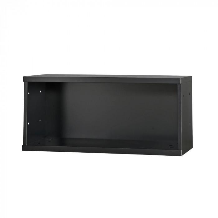 コンビネーション収納庫オープン1段 H410 ブラック NHS-KU-B サテンブラック人気 お得な送料無料 おすすめ 流行 生活 雑貨