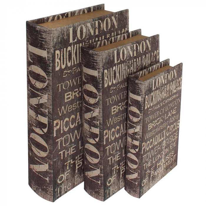 ブックボックス 3Pセット LONDON BB-16人気 お得な送料無料 おすすめ 流行 生活 雑貨