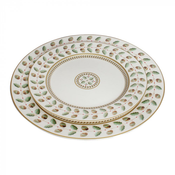 どんぐり柄のお皿2枚セット GZ-1801お得 な 送料無料 人気 トレンド 雑貨 おしゃれ