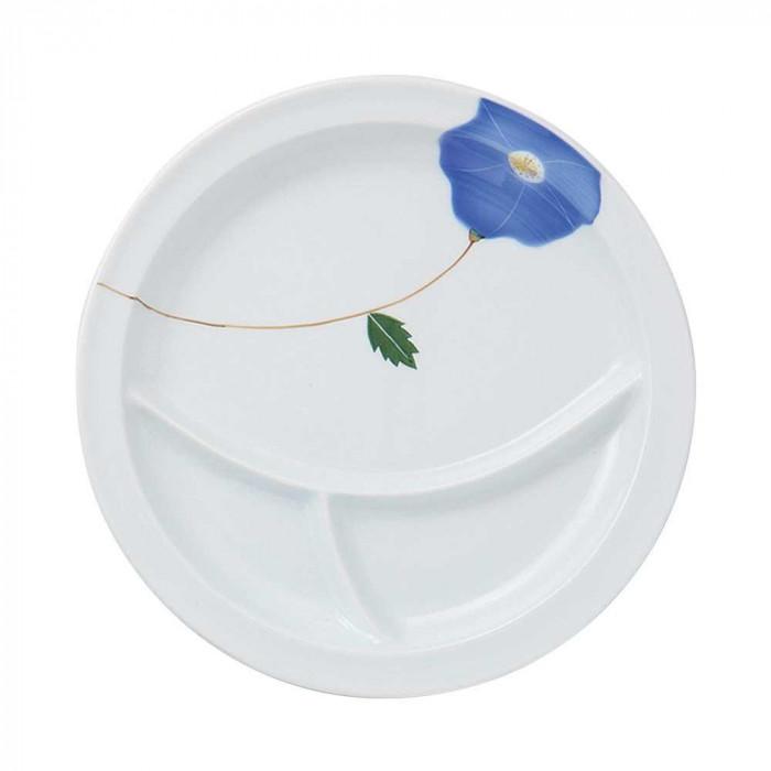 浜陶 波佐見焼 吹き花 仕切り皿 B (3枚入) 17-06人気 お得な送料無料 おすすめ 流行 生活 雑貨
