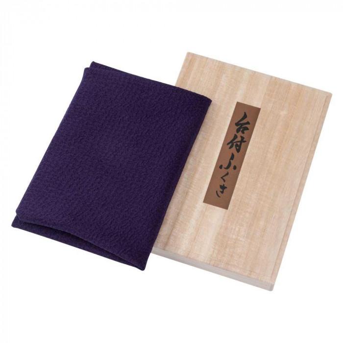 流行 生活 雑貨 春慶台付ふくさ 春慶ぬり板使用桐箱入り 紫 48-013401
