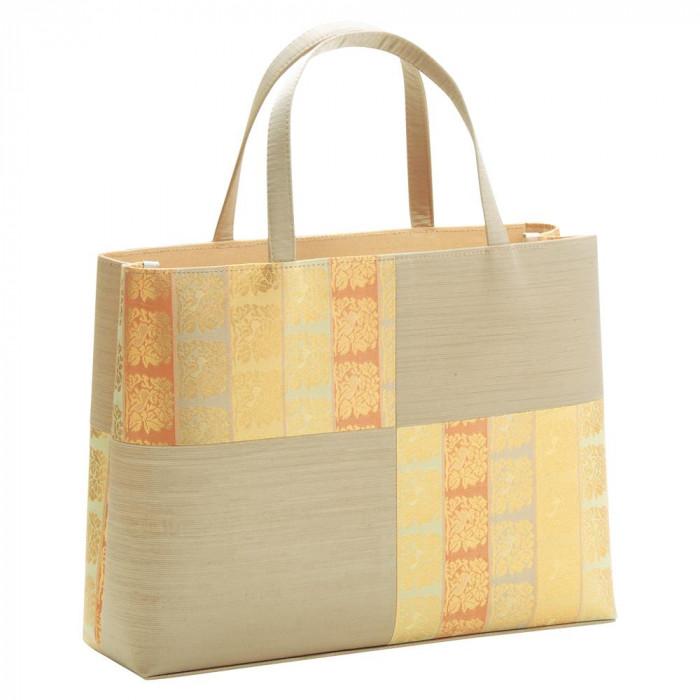 トートバッグ横長 市松取型 ベージュ 56-121007人気 お得な送料無料 おすすめ 流行 生活 雑貨
