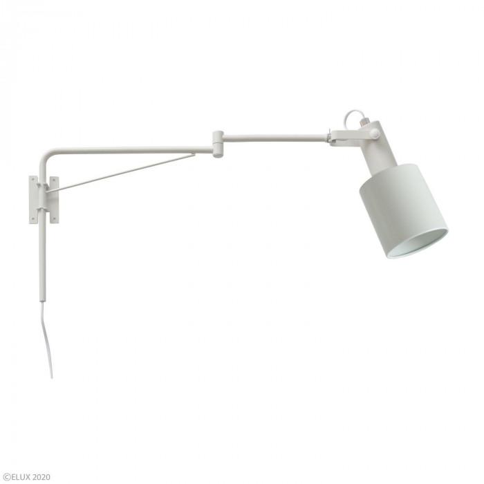 流行 生活 雑貨 1灯アームブラケットライト ホワイト LC10975-WH
