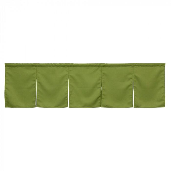 5巾のれん モスグリーン 防炎タイプ W1750×H500mm 42054人気 お得な送料無料 おすすめ 流行 生活 雑貨