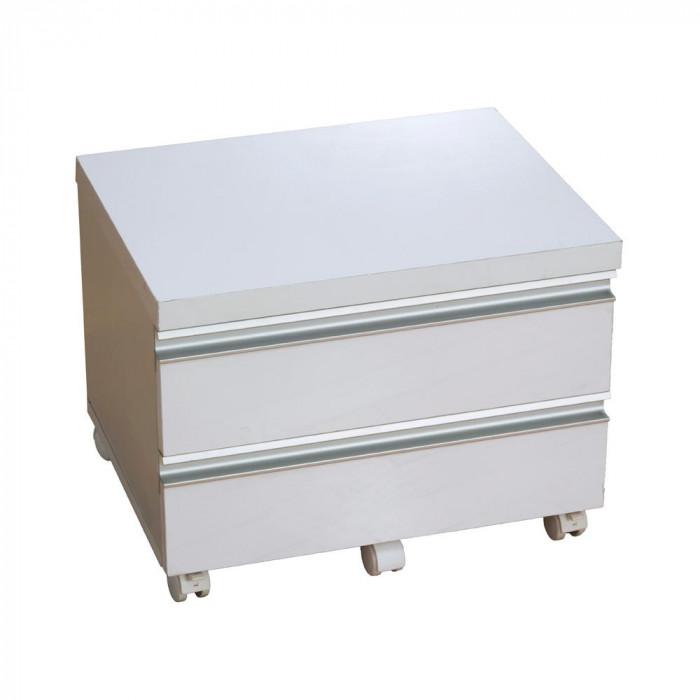鏡面プリンターワゴン FS-1050WH ホワイト人気 お得な送料無料 おすすめ 流行 生活 雑貨