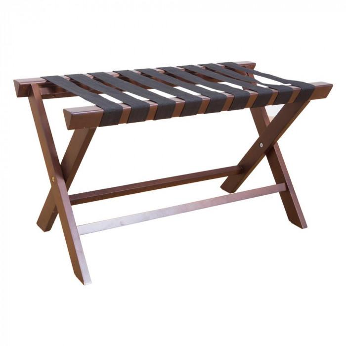 流行 生活 雑貨 木製バゲージラック ワイドサイズ KH-5080DBR ダークブラウン
