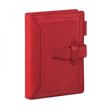 システム手帳 ポケットサイズ レッド DP3015Rお得 な全国一律 送料無料 日用品 便利 ユニーク