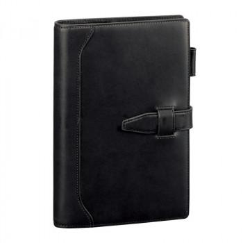 オリーブレザー システム手帳 聖書サイズ ブラック DB3027Bオススメ 送料無料 生活 雑貨 通販