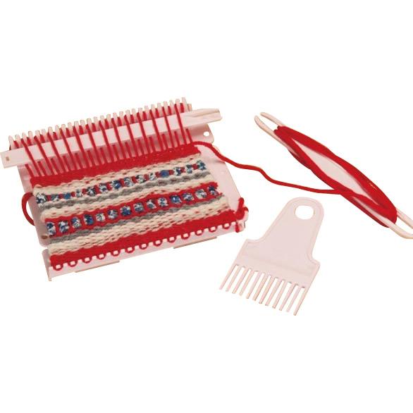単三電池 4本 定価 登場大人気アイテム おまけ付きアレンジ色々 スクエア型の小さな織り機 アレンジ色々 クラフト 生地関連 手芸