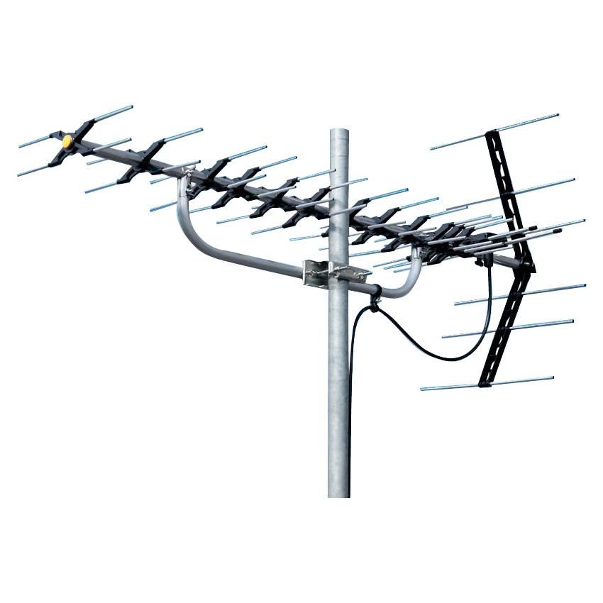 地上デジタル放送受信用 家庭用 高性能UHFアンテナ 14素子 LS146おすすめ 送料無料 誕生日 便利雑貨 日用品