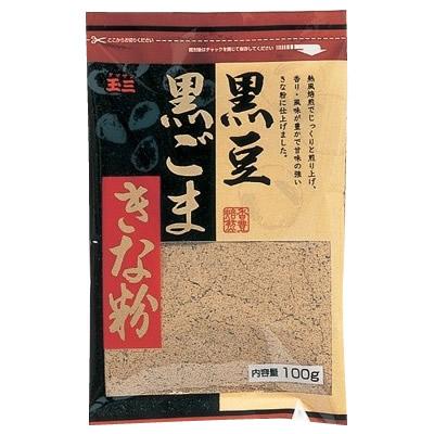 玉三 黒豆黒ごまきな粉100g×40個 0273  人気 お得な送料無料 おすすめ 流行 生活 雑貨