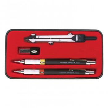単三電池 6本 おまけ付き製図用品です バースデー 記念日 ギフト 贈物 お勧め 通販 KD型製図器 5品組 鉛筆製図セット 2020 新作 010-0009 SE