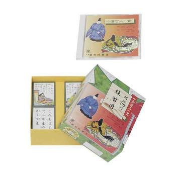 【薬用入浴剤 招福の湯 付き】朗読CD付きの昔ながらの百人一首、 百人一首CD付き MH-38 おすすめ 送料無料 誕生日 便利雑貨 日用品