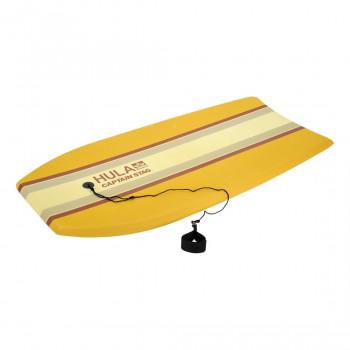 爽やかなストライプデザインのボディボード CAPTAIN STAG キャプテンスタッグ HULA EVAボディーボードクラシックブラウン41inc UX-1043 人気 商品 送料無料
