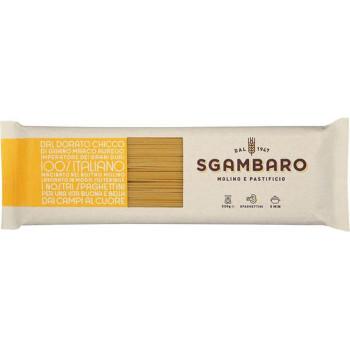 おいしいパスタ スガンバロ スパゲッティーニ 500g 16セット 超歓迎された 商品 092031 人気 送料無料 日時指定